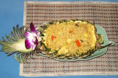 Recette de riz thaï à l'ananas